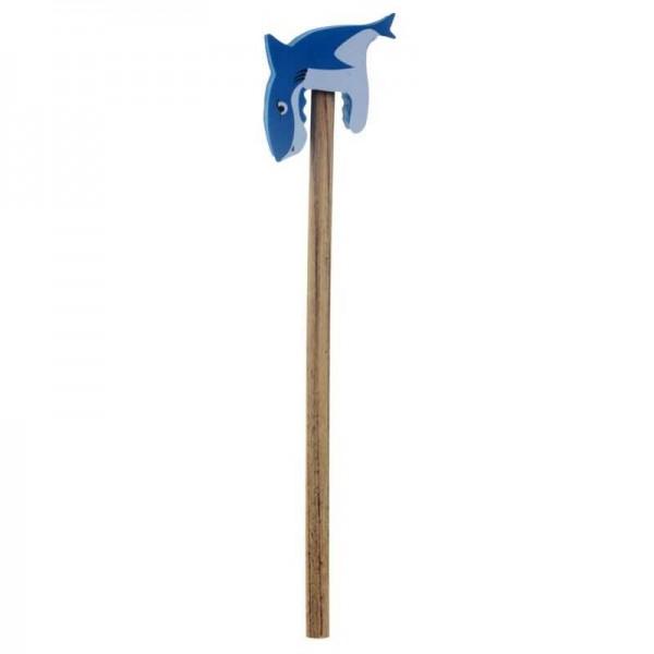Bleistift mit Radierer Haifisch