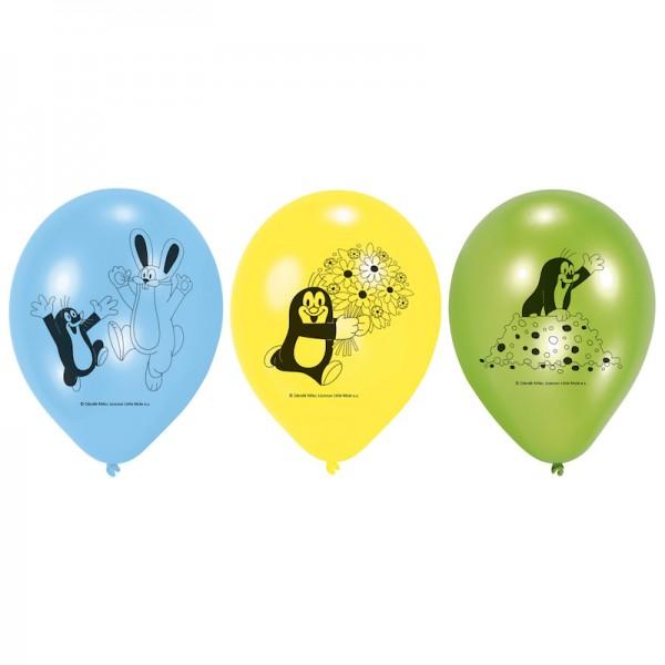 Luftballons kleiner Maulwurf, 6 Stk.