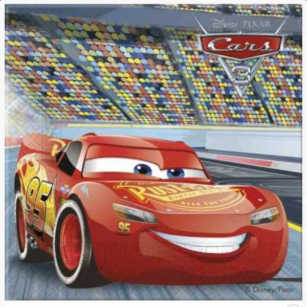 Servietten Cars 3, 20 Stk.