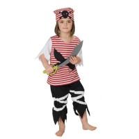 Kostüm kleiner Pirat 128