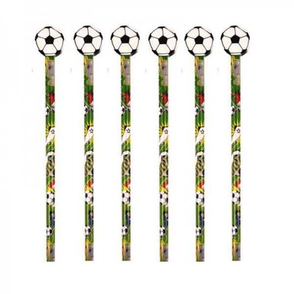 Bleistift Mit Radierer Fussball 1 Stk Art Nr 150219 30