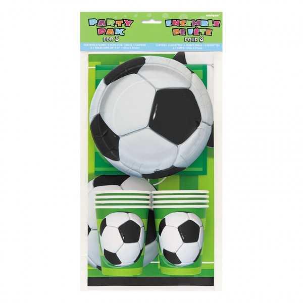 Tischwarenset Fussball, 25-tlg