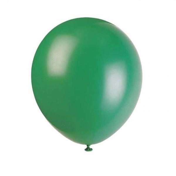 Luftballons grün, 10 Stk.