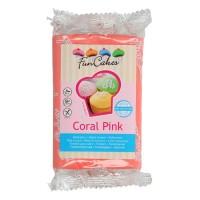 Funcakes Fondant Coral Pink, 250 g