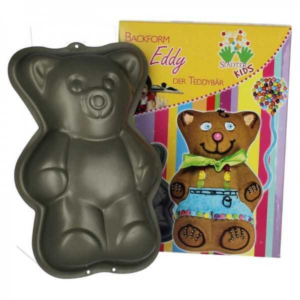 Kuchenbackform Teddybär, 1Stk