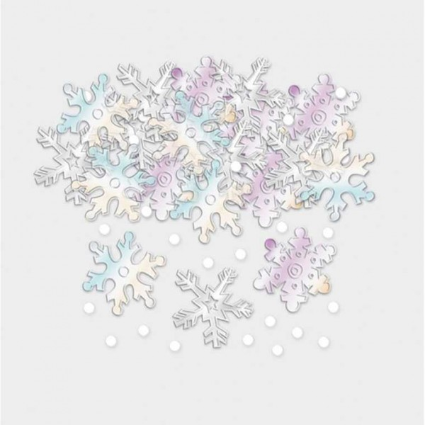 Konfetti Schneeflocken, 14 g