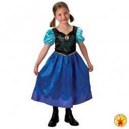 Party Kostüm: Anna. Frozen / Die Eiskönigin