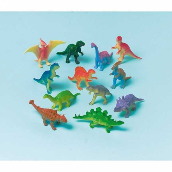 Figuren Dinosaurier, 12 Stk.