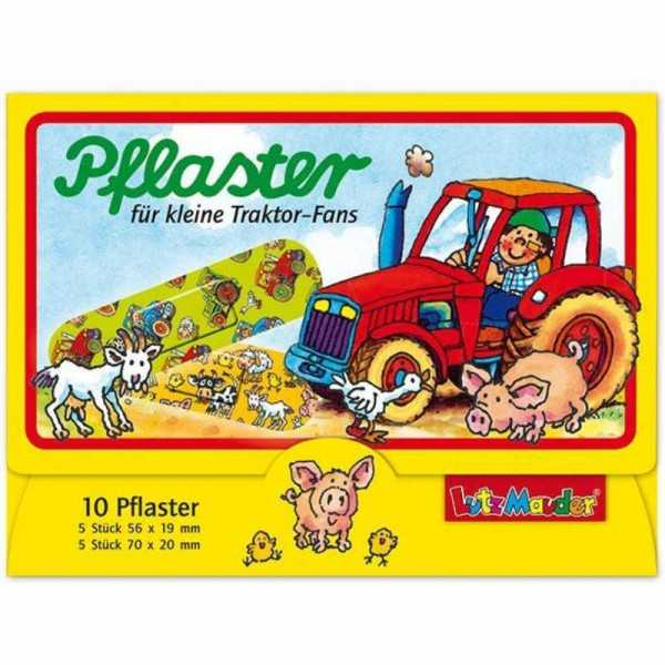 Pflaster Traktor, 10 Stk.