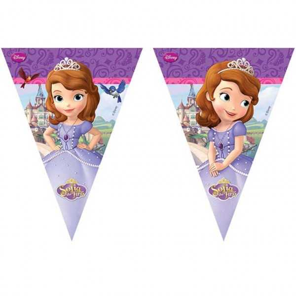 Wimpelkette Sofia die Erste / Sofia the First
