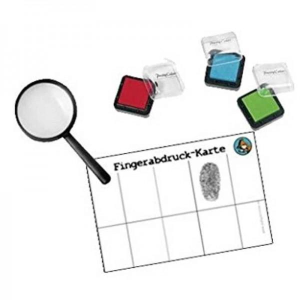 Fingerabdruck-Set Detektiv Flo