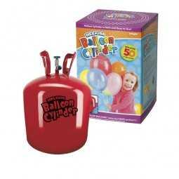 Heliumflasche, Einweg, 1 Stk. für 50 Ballons
