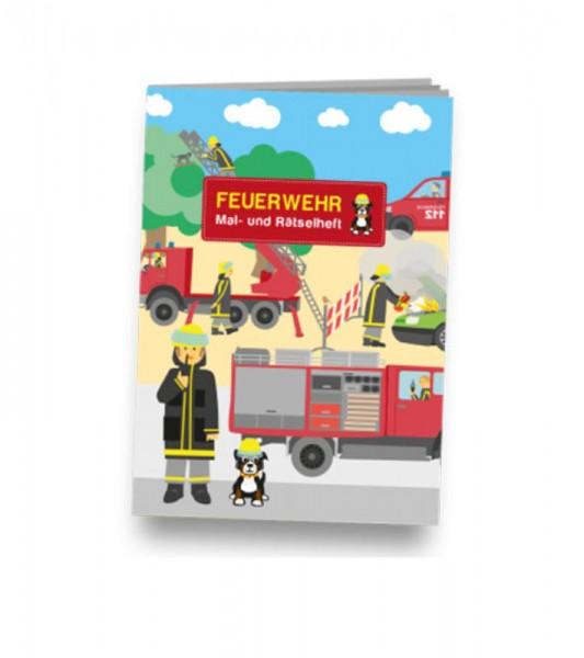 Mal- und Rästelheft Feuerwehr