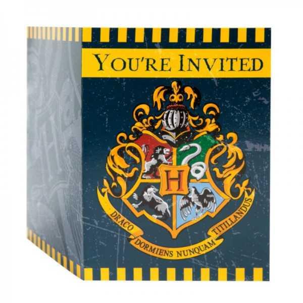 Einladungskarten Harry Potter, 8 Stk
