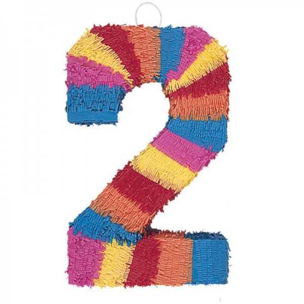 Piñata Zahl 2