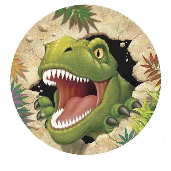 Tortenaufleger Dino Alarm, 1 Stk