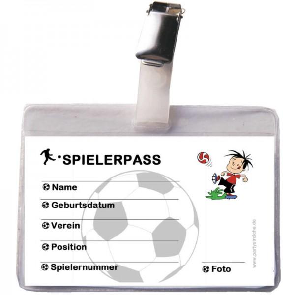 Ausweis Fussballspieler, 1 Stk.