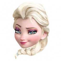 Maske Elsa Frozen / Die Eiskönigin, 1 Stk.