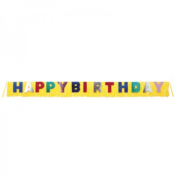 Riesen-Banner Happy Birthday, 3m