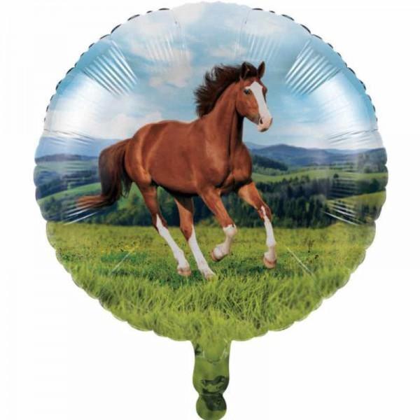 Folienballon Pferde Party