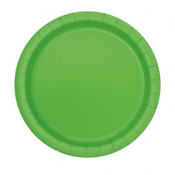 Teller hellgrün