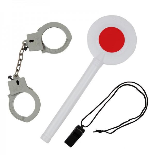 Polizei-Set, 3-tlg.