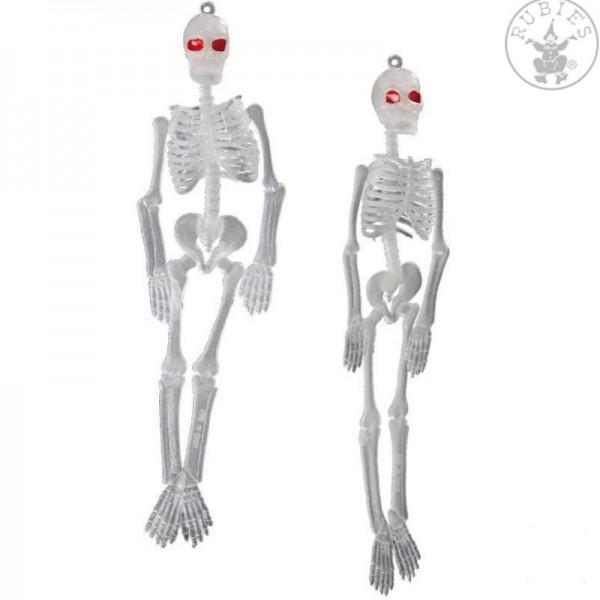 Skelett nachtleuchtend, 2 Stk.