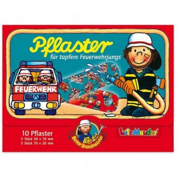 Pflaster Feuerwehr, 10 Stk.