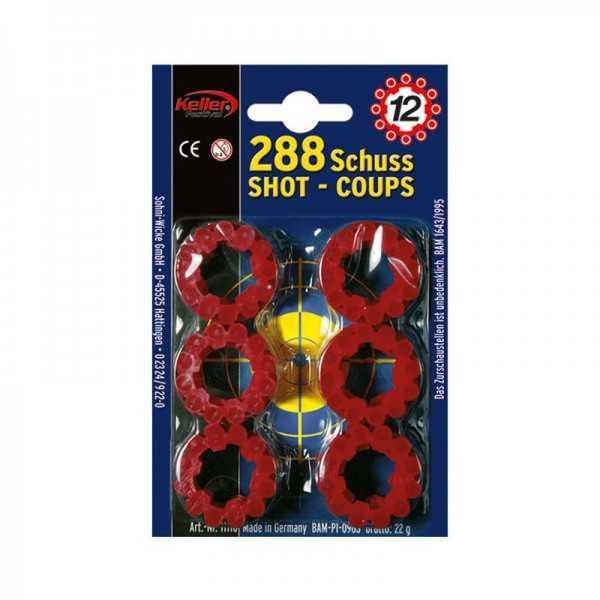 Platzpatronen 288 Schuss (12er)
