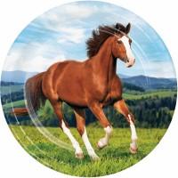 Teller Pferde Party, 8 Stk.