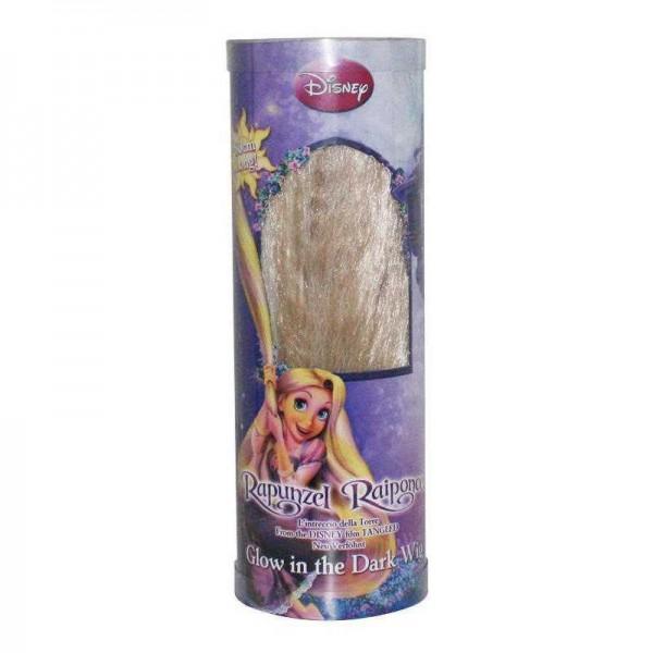 Perücke Rapunzel, nachtleuchtend