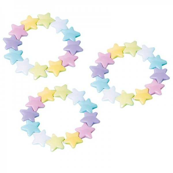 Armband Sterne, 12 Stk.