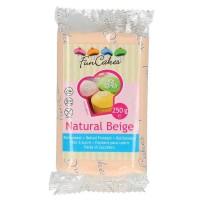 Funcakes Fondant Natural Beige, 250 g