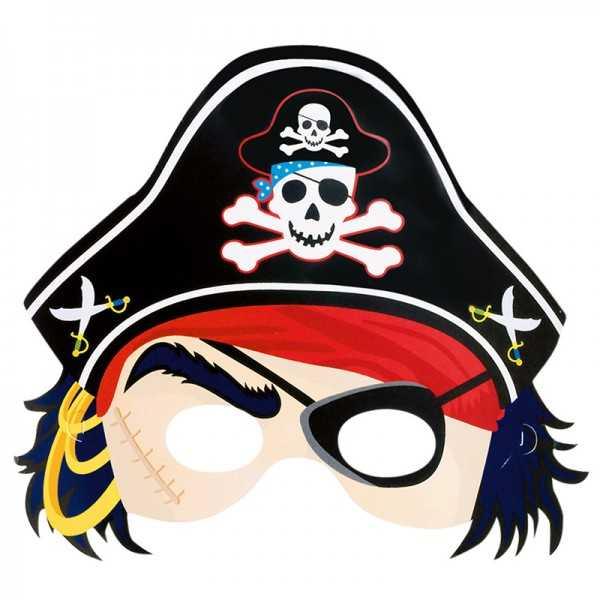 Masken Pirat