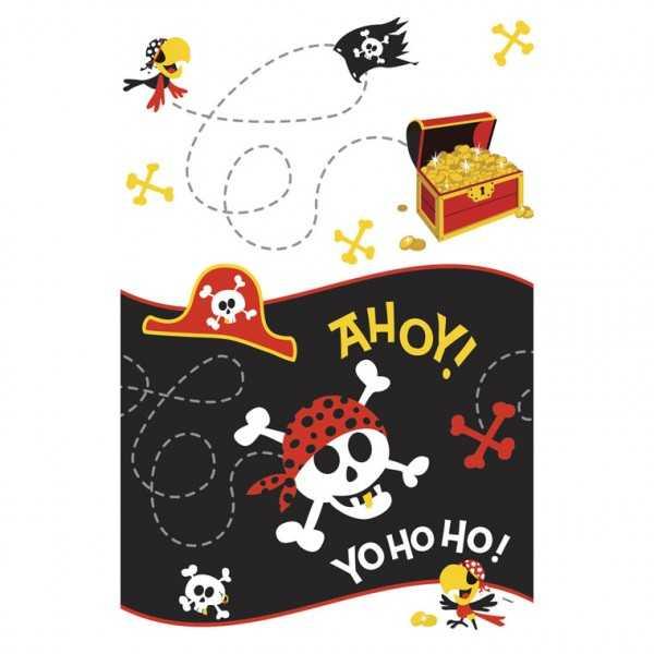Tischdecke Ahoi Piraten, 1 Stk