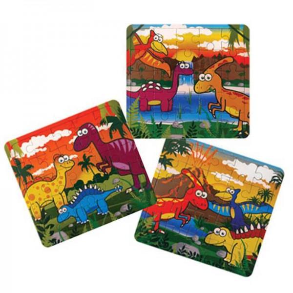 Minipuzzle Dinosaurier