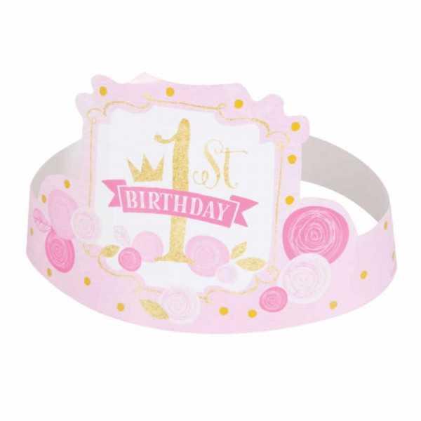 Partyhüte 1. Geburtstag Prinzessin