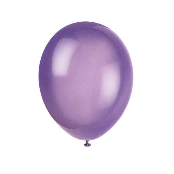 Luftballons lila, 10 Stk.