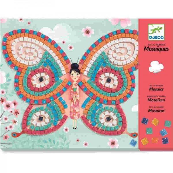 Djeco Mosaik Schmetterling