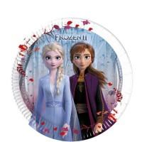 Teller klein Frozen 2 / Die Eiskönigin, 8 Stk.