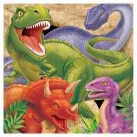 Servietten Dinosaurier Alarm, 16 Stk.