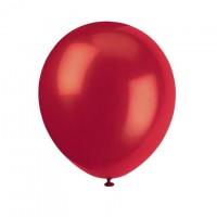 Luftballons rot, 8 Stk.