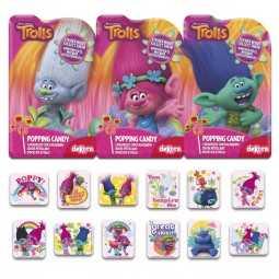 Popping Candy mit Stickern Trolls, 3 Stk.