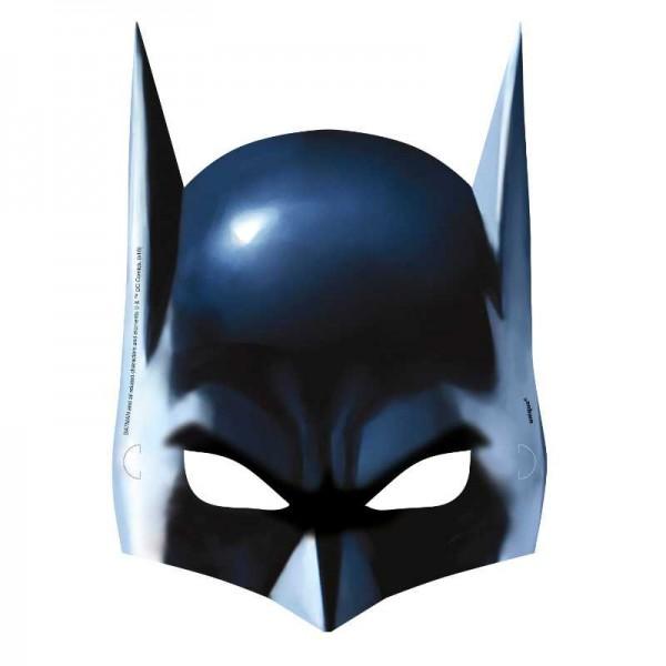 Maske Batman, 8 Stk