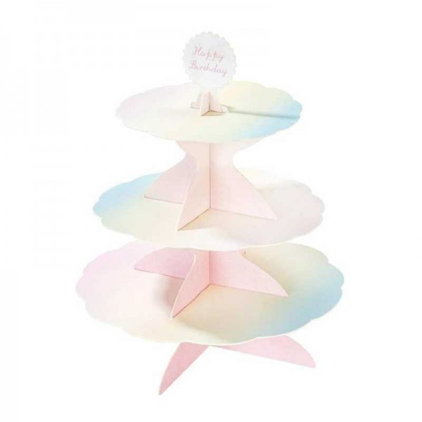 Etagere Cupcakes Pastell