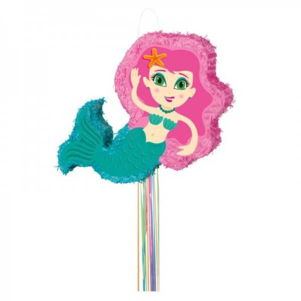 Zieh-Piñata Meerjungfrau