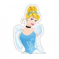 Silhouette-Tortenaufleger Cinderella, 1 Stk.