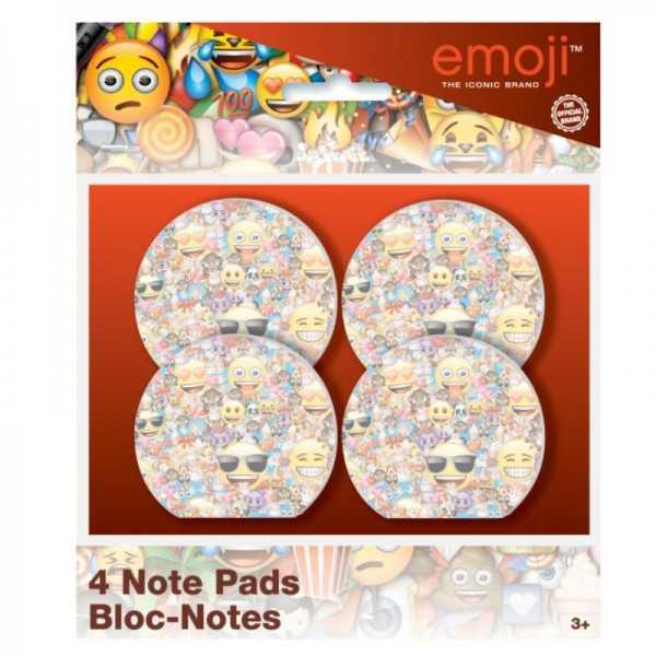 Notizblock Emoji, 4 Stk