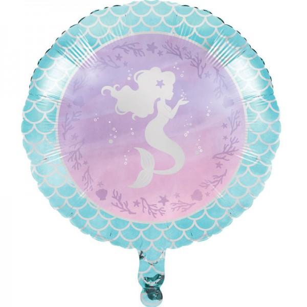 Folienballon Schimmernde Meerjungfrau