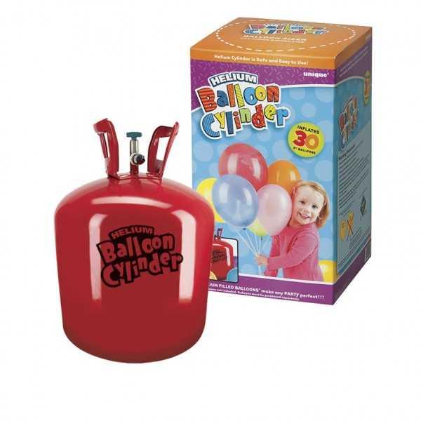 Heliumflasche für 30 Ballons